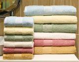 Хлопка Dobby граници гостиницы полотенце 100% ванны