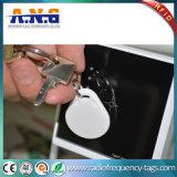 Corrente chave plástica pequena RFID Keyfob da identificação para o fechamento do hotel