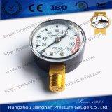 """50mm 2 """" 125psi의 최대 압력을%s 가진 일반적인 압력 계기"""