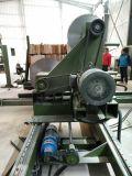 La cara de madera clara consideró la máquina