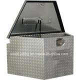 La placa del diamante Caja de herramientas de aluminio para un remolque de estilos de marcos