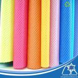 Покрашенная ткань PP Spunbond Nonwoven для хозяйственной сумки