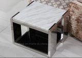 現代枕元の端表のステンレス鋼の側面表