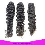 Волосы девственницы волны воды естественного цвета Unprocessed бразильские