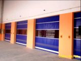 Puerta de alta velocidad enrollada / rodillo industrial Puerta de alta velocidad aprobada / vinilo de alta velocidad Roll Up Door