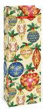 bolso hecho a mano del embalaje del regalo del diseño de la botella de la hoja colorida