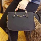 Petit sac d'épaule de type de mini de sac à main traitement circulaire simple en métal Sy8006