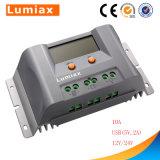 20A contrôleur solaire de charge du lithium MPPT