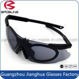 Heißer Verkaufs-Zoll Sports Myopie Eyewear Sonnenbrille-Militäraugenschutz-Sicherheits-Schutzbrille