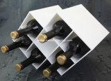 Boîte en verre à vin simple en plastique transparent