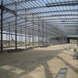 Entrepôt léger préfabriqué de structure métallique de modèle populaire avec Nice la qualité