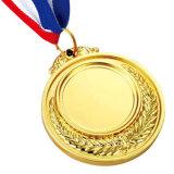 La medaglia del ricordo placcata oro della pressofusione per lo sport