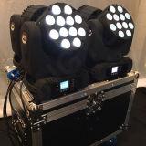 12X12W Mini Stage LED Faisceau tête mobile