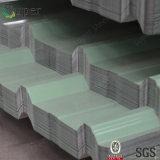 La toiture en acier ondulée de PPGI couvre le matériau de construction d'enduit de couleur
