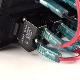Comitato rosso o blu dell'interruttore di attuatore del LED per il fante di marina del crogiolo di automobile