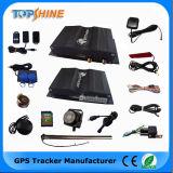 Double traqueur du véhicule GPS de détecteur de krach de détecteur d'essence d'appareil-photo