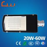 60W 12V DC LED 태양 가로등 램프 헤드 전용