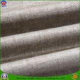Tela de linho tecida da cortina do poliéster do franco de matéria têxtil escurecimento impermeável Home