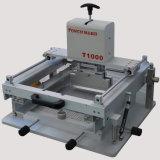 Manuelle Schaltkarte-Bildschirm-Drucken-Maschine (T1000)