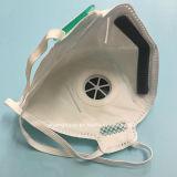 Máscara de polvo plegable de la dimensión de una variable con N95 aprobado con la válvula