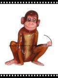 Decoración de la fibra de vidrio para el modelado del mono del parque de atracciones