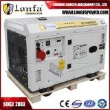 10kVA 10kw generatore diesel silenzioso freddo dell'aria di 3 fasi
