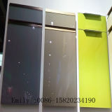 Glossy branco Kitchen Cabinet Door (prova de Scratch)