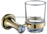 Новые санитарные комплекты вспомогательного оборудования 6PCS золота цинка изделий