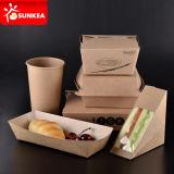 Sandwiches Embalajes de Papel Embalajes Desechables