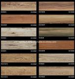 azulejo de suelo de madera del grano de la inyección de tinta 3D 150*600 Rda16015