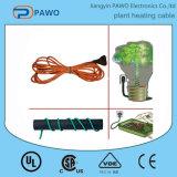 cable térmico de la planta del cable del calor del suelo de la planta de semillero del cable térmico del rastro 110V