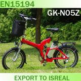 普及した小型折りたたみの電気自転車CE/En15194