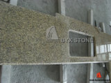 브라운/Yellow/Kitchen/Hotel Project를 위한 White Granite Countertops