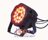 Hotsale防水IP65 LEDの同価の照明18*10W LED同価はできる