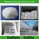 Sulfito de sodio anhidro del precio Na2so3 del grado de la industria