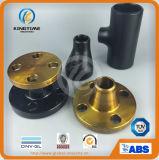 Réducteur excentrique d'ajustage de précision de pipe de CS à ASME B16.9 A234 Wpb (KT0088)