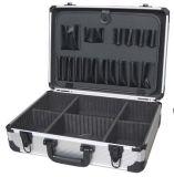 Cas en aluminium de vol de boîte à outils de cas de mémoire en métal de liaison de jonction de bonne qualité