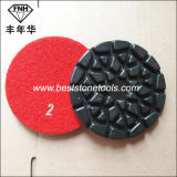 Пусковая площадка пола цветка Cr-28 полируя для мрамора гранита (100X6.0mm)