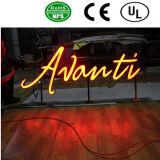 Fabricante de acrílico luminoso impermeable al aire libre de la señalización de la carta de canal de China