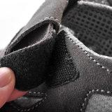 つま先の帽子L-7216のスエードが付いている基本的な経済的なセリウムの安全靴