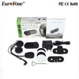 Intercomunicador dos auriculares de Bluetooth do capacete do esqui ou da motocicleta de Fdc-02vb e auriculares sem fio