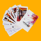 広告カードのペーパートランプをカスタム設計しなさい