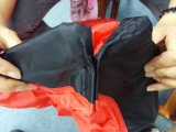 Saco de sono inflável do lugar frequentado de Lamzac do ar de pouco peso