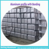 Het Profiel van het aluminium met het Buigen van het Boren het Anodiseren van het Ponsen voor het Geval van het Karretje