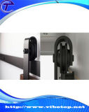 Hardware de sistema completo de madera montado en la pared de la puerta deslizante