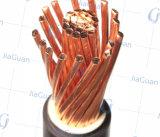 El conductor de cobre XLPE aisló el cable de alambre aislado los gastos indirectos