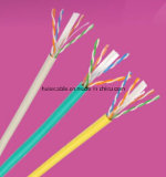 Cable de LAN Twisted de los pares Cat5e CAT6 del precio UTP/FTP/SFTP 4 baratos