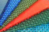 Rasterfeld-Typ im Freien modulares Inline-Hockey-Gericht, Hockey-Eisbahnen-Bodenbelag, Plastikfußboden-Fliesen (Hockey-Gold/Silber/Bronze)