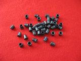 Guide en céramique d'oeillet de Titania noir de textile