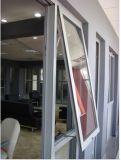 Ventana de aluminio del estándar del toldo de Australia del diseño moderno del alto grado